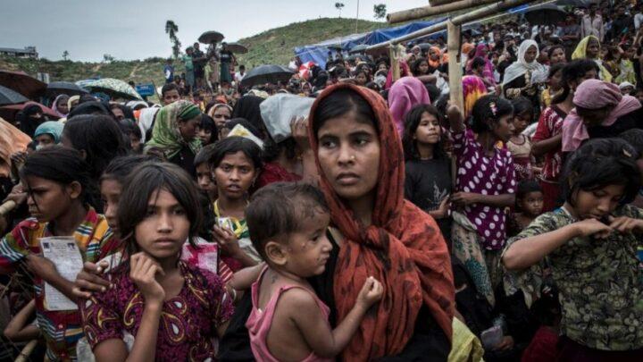 Refugiados que fogem da Síria para o Reino Unido