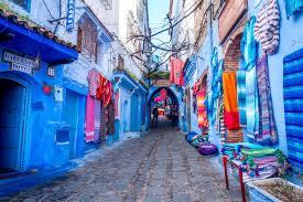 nasocial Chefchaouen, Marrocos
