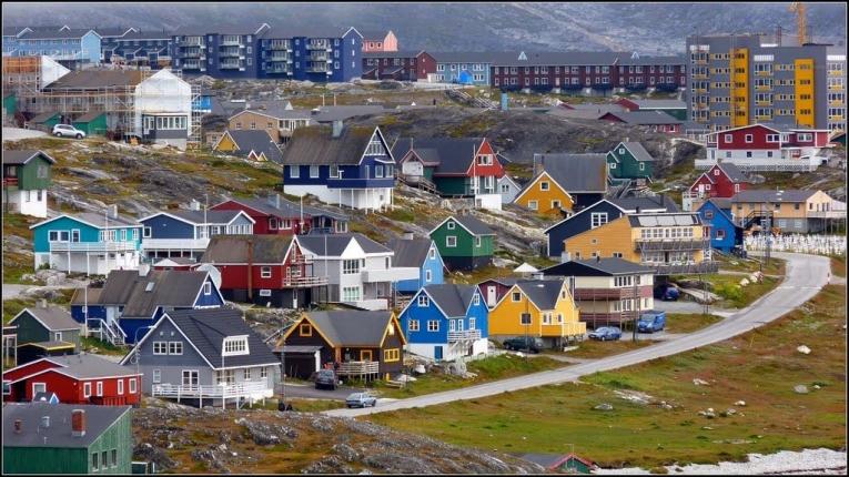 nasocial Nuuk, Groenlândia